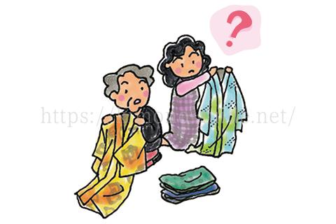 古い着物や汚れ・傷みがひどい着物でも買取してくれる?