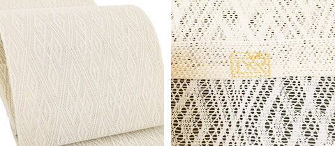 喜多川平郎の羅織の帯