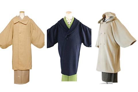 いろいろな和装コート