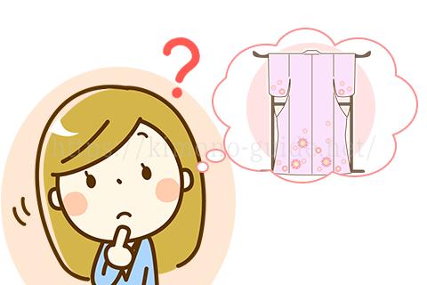 付け下げはどんな着物?
