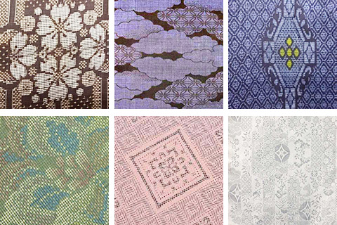 大島紬の染色別の分類名