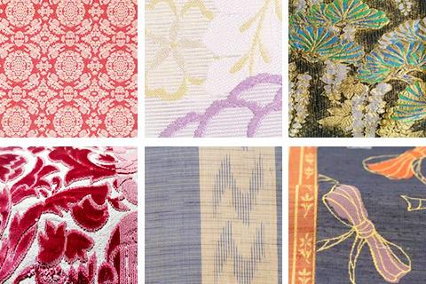 西陣織とされている品種(織り方)は12種類