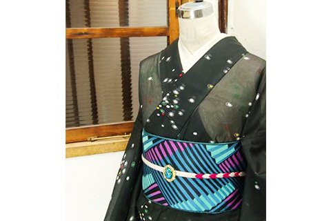 夏着物といえば絽・紗・羅の織物