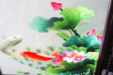 蘇州刺繍(そしゅうししゅう)