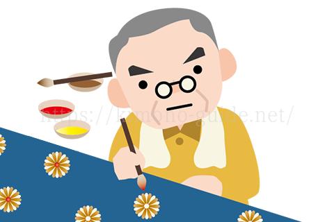 有名作家や老舗の小紋