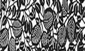 南部古代型染の紋「南部萩」