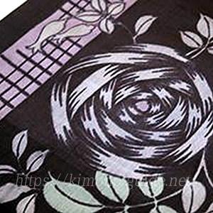 栃木県・解し織 模様