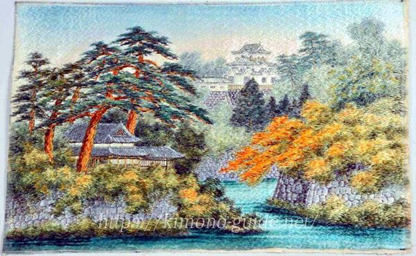 滋賀県・近江刺繍/彦根繍(ひこねぬい)