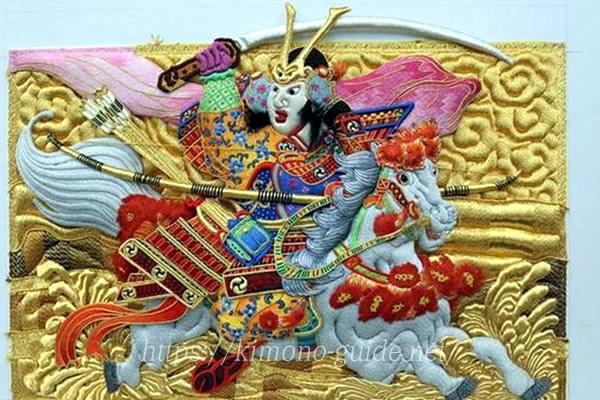 香川県・金糸銀糸装飾刺繍(きんしぎんしそうしょくししゅう)